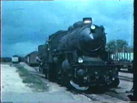Gedser ca 1960  Int  tog + færger