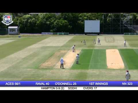 Auckland Aces vs Northern Knights - Plunket Shield - Day 2