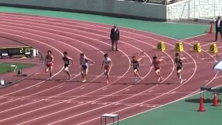 2013静岡県東部高校総体男子100m準決1~3