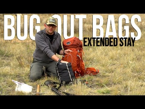 Bug Out Bags – Extended Stay