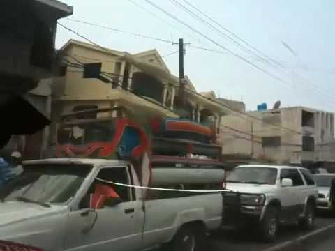 Delmas 40 street in Haiti