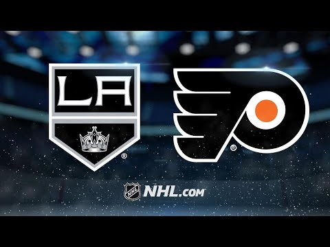 Quick, Kings post 4-1 win against Flyers