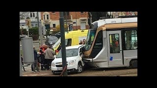 ✦ Tram And Car Crash Compilation December 2018 HD ✦  #4 NEWW