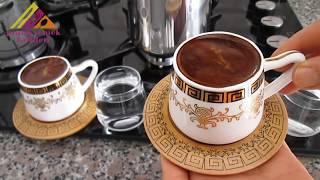 Türk Kahvesi Nasıl Yapılır? Bol Köpüklü Türk Kahvesi how to make turkish coffee? bon appetit