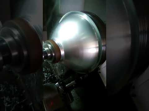 Lampshade CNC Spinning Making Machine--Email: sales@tiptopmfg.com