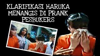 Klarifikasi Haruka Menangis di Prank Pesbukers dituduh mencuri jam Raffi