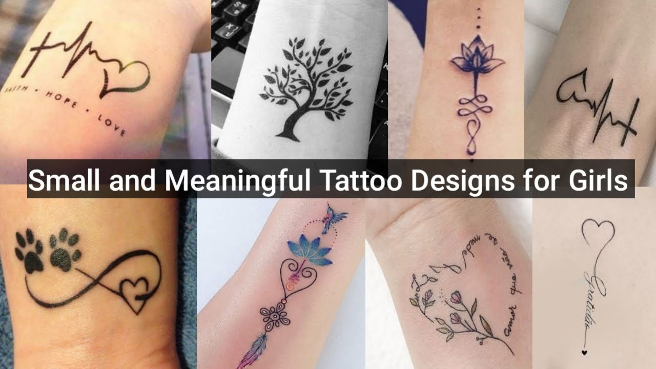 Small But Meaningful Tattoo Designs For Girls/ Small Tattoos For Women
