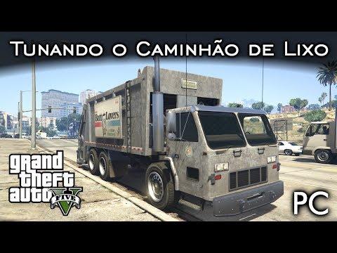 Tunando o Caminhão de Lixo - Trashmaster | GTA V - PC [PT-BR]