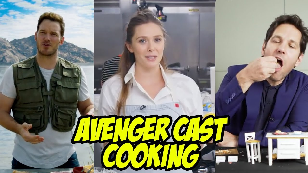 Avengers 4Endgame Cast Cooking - Best Kitchen Videos Of -2262