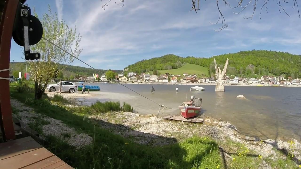 Le pont lac de joux webcam