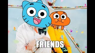Gumball Sing Marshmello & Anne Marie FRIENDS [Cartoon Cover]