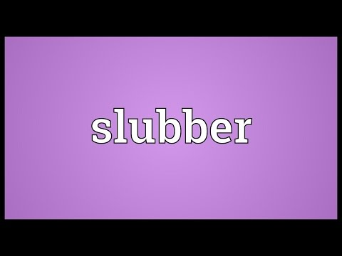 Header of slubber