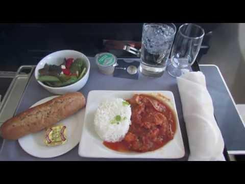 Emergency Landing!   Business Class   United 737-900ER   Houston (KIAH) to LAX