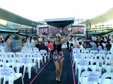 On The Road Again - One Direction Sydney Part 1