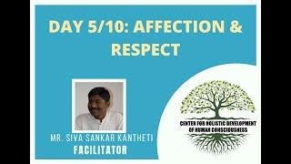 Day5/10 - Mr. Siva Kantheti - Universal Human Values / Jeevan Vidya Online Workshop