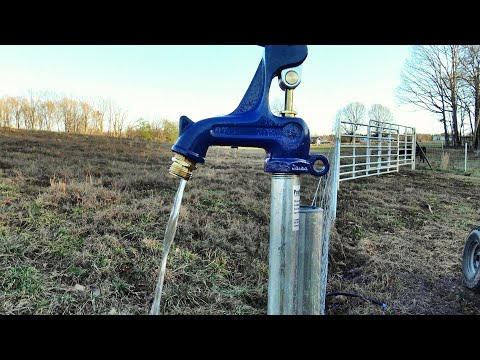 You've never seen a farm water system like this...cheap, easy no electrical required!