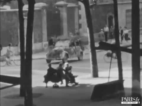 La Libération vue depuis le boulevard Raspail