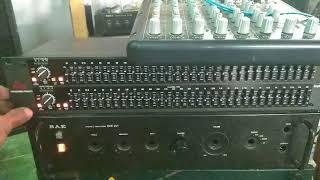 Test dbx 231 equalizer