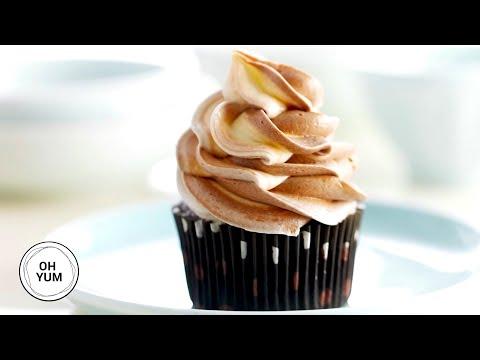 Chocolate Spice Cupcakes | Oh Yum With Anna Olson