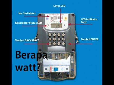 MENGHITUNG JUMLAH PEMAKAIAN LISTRIK Lampu : 20 watt x 12 h =240 wh = 0,24 kWh TV : 100 watt x 6 h =5.