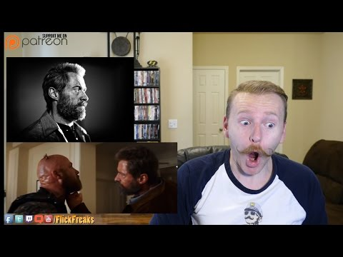 Logan - Official Red Band Trailer (Reaction & Review)