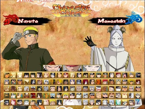 Naruto Shippuden Ultimate Ninja Storm 4 (2017) Mugen - Updated! - Characters And Stages 2017