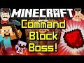 Minecraft COMMAND BLOCK BOSS Amazing Creation mp3