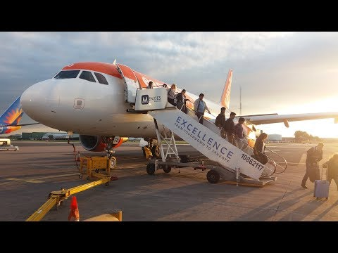 easyJet Airbus A319-111 Hamburg to Manchester | Full Flight