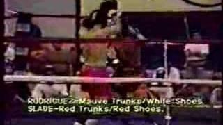 Rodriguez vs Slade Amateur Kickboxing Title Bout