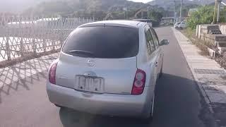 Видео-тест автомобиля Nissan March (BK12-024306, Cr14de, 2002г)