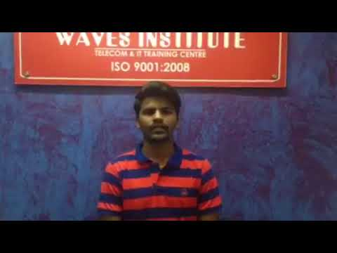 Waves Institute Pune  Telecom Training   Placed Student 7