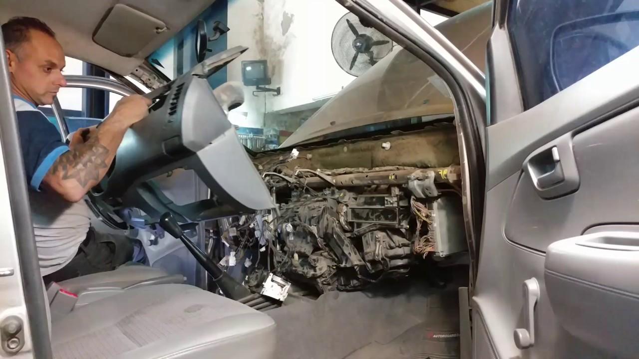 Reemplazo De Radiador De Calefacci 243 N Toyota Hilux Youtube