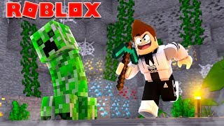 MINECRAFT IN FAUX ROBLOX
