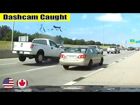 Ultimate North American Cars Driving Fails Compilation - 102 [Dash Cam Caught Video]