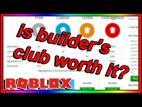 IS BUILDER'S CLUB ON ROBLOX REALLY WORTH IT?