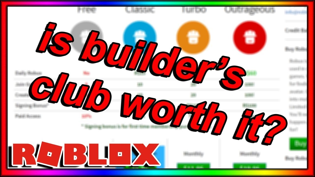 Roblox Builder Membership How Much Robux Why Roblox Builders Club Is Worth It Roblox Builders Club Membership Benefits
