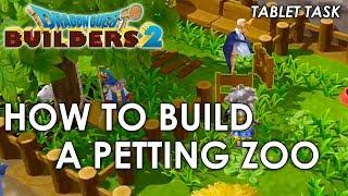 التنين كويست بناة 2 - كيفية بناء حديقة الحيوانات (دليل)