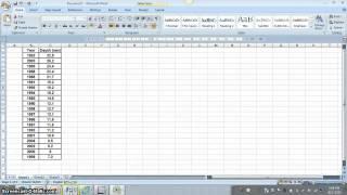 return period calculation (hydrology analysis)