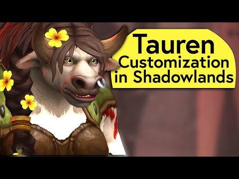 tauren-customization-options-in-shadowlands---alpha-preview