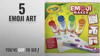Top 10 Emoji Art [2018]: Crayola Emoji Marker Maker Set