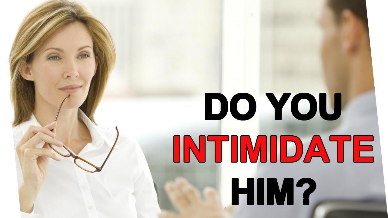 Why do beautiful women intimidate men