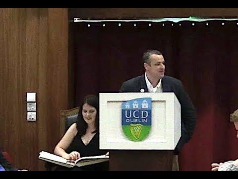 Is God Evil? John Hamill debating at UCD