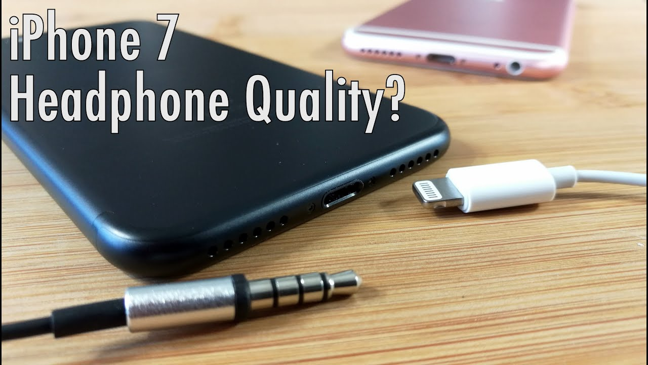 best service 93be7 feb8e 24 Hours With the Apple iPhone 7: Lightning Connector Headphone Quality |  Pocketnow