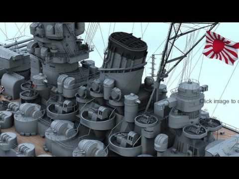 Khám Phá Quân Sự - Thiết giáp Hạm Yamato của Nhật Bản