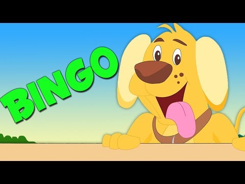 Bingo der Hund | deutsche Kinderlieder | Vorschullieder | Nursery Rhymes And Songs | Bingo The Dog