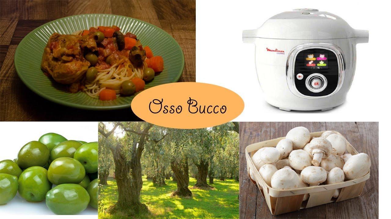Recette dinde fa on osso bucco avec le cook o de moulinex - Comment cuisiner osso bucco de dinde ...