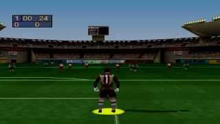 FIFA Soccer 97 Gameplay Friendly Match (PlayStation)