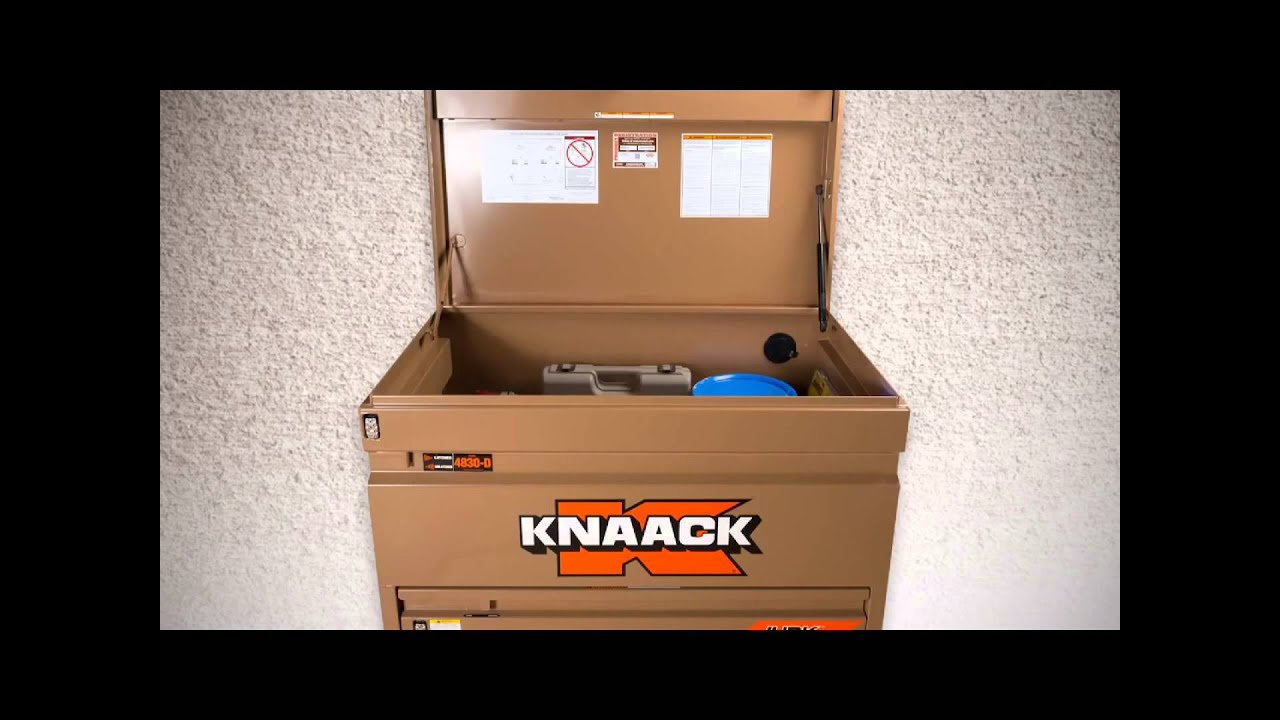 hight resolution of knaack jobmaster chest model 4830