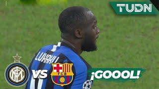 ¡Inter consigue el empate! | Inter de Milán 1 - 1| FC Barcelona | Champions League - J 6 - Grupo F |