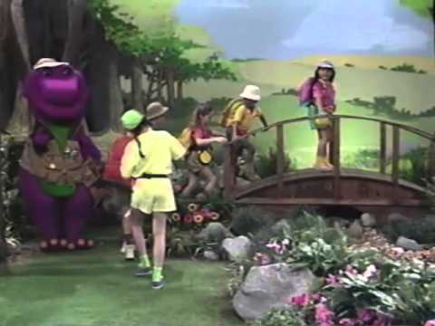opening to barney waiting for santa 1996 vhs youtube